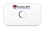 Travelers Wifi for accommodations Portable High-Speed Router