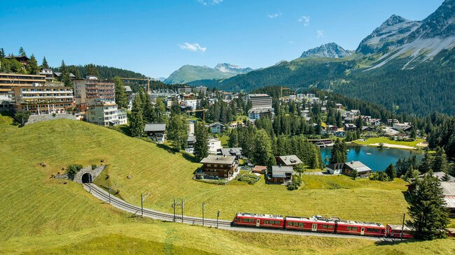 Arosa Switzerland Travelers Wifi Pocket Wifi RHB