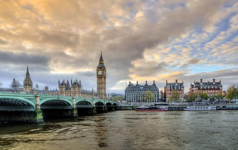 London-big-ben-Tragbares wifi