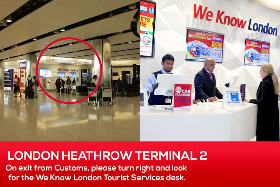 Pocket Wifi Pickup at London Heathrow Terminal 2