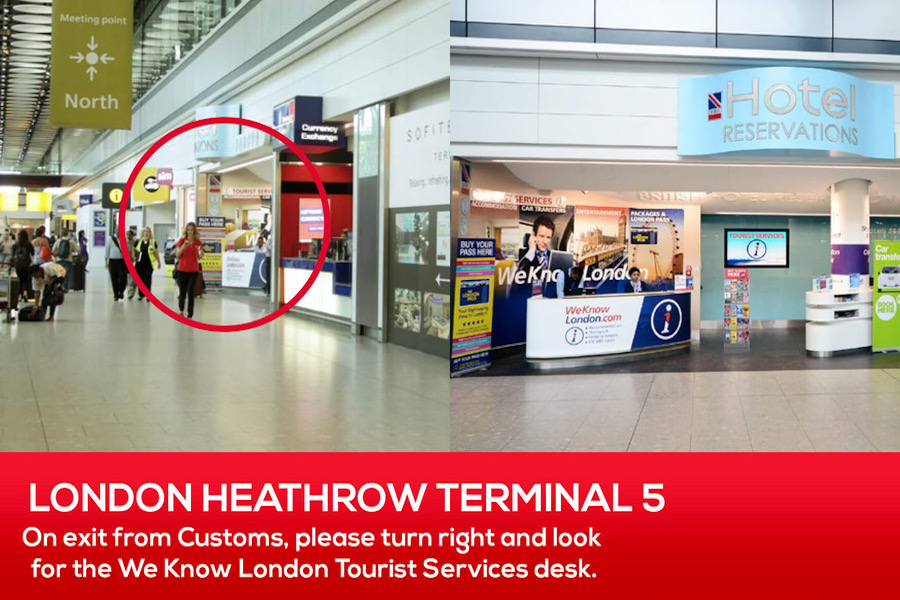 Where to pick up your pocket WiFi at London Heathrow Airport
