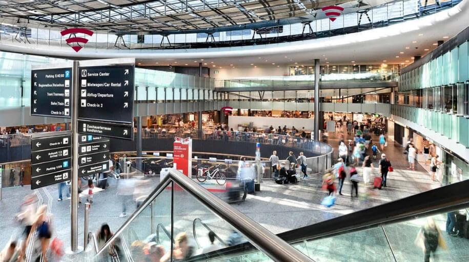 Centro de Servicio del aeropuerto de Zurich