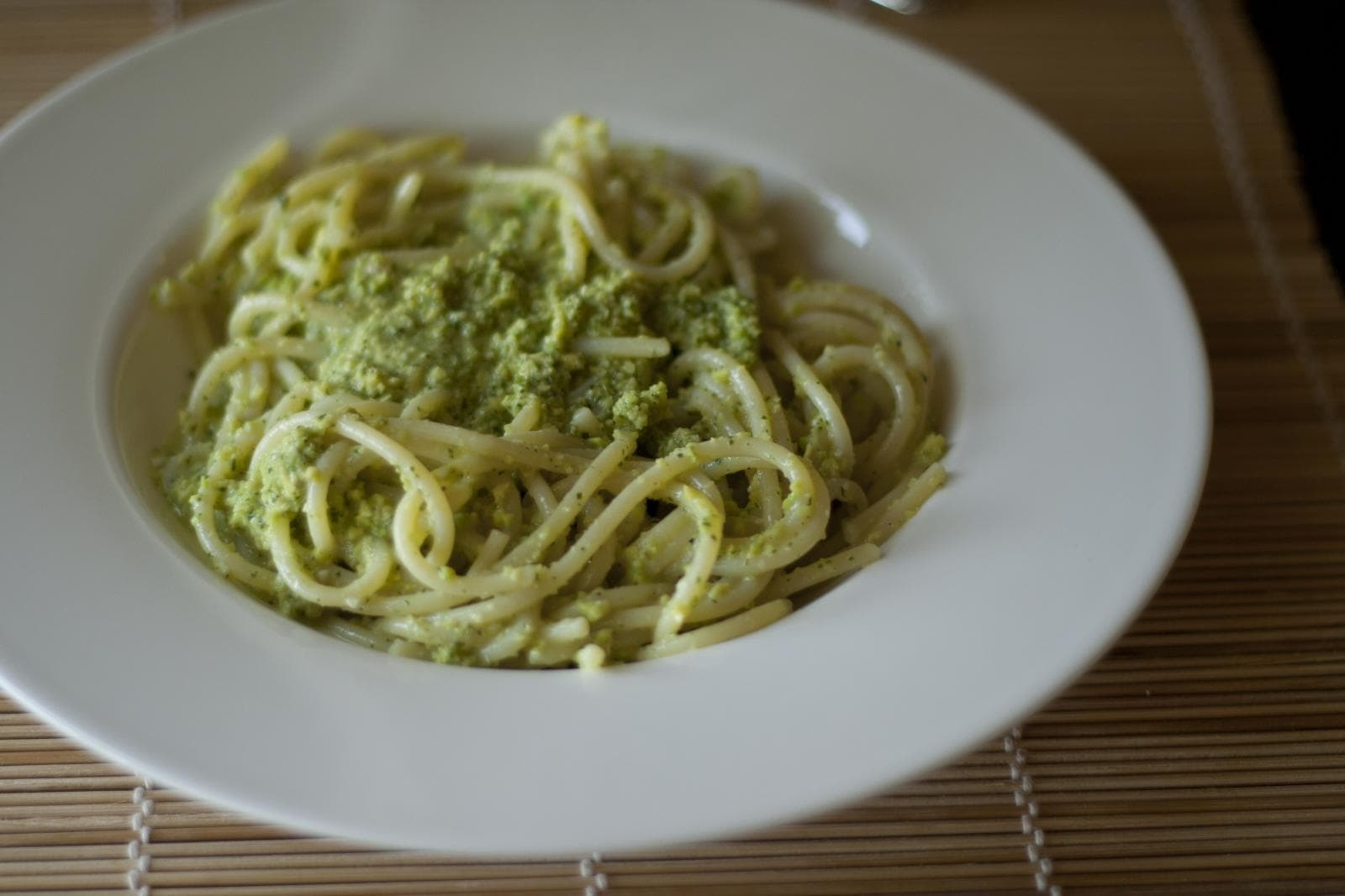 Pesto pasta Italian Food Travelers Wifi