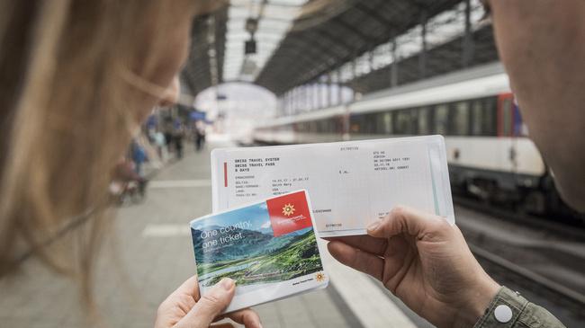 Swiss travel pass for traveling trough Switzerland