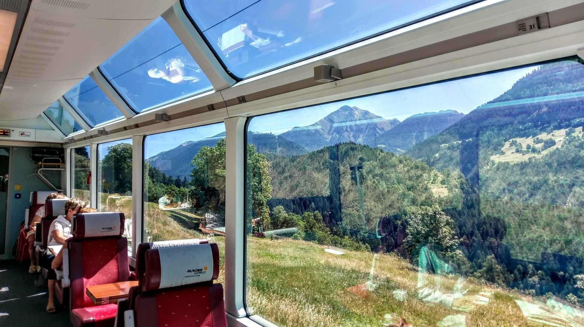 Traveling trough Switzerland